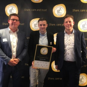 myCar.be in de prijzen op de BeCommerce Awards! image