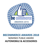 Becommerce Awards 2018 - Nominee Public Award - Automobile & Accessories