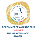 Becommerce Awards 2019 - Winner - The Marketplace Award